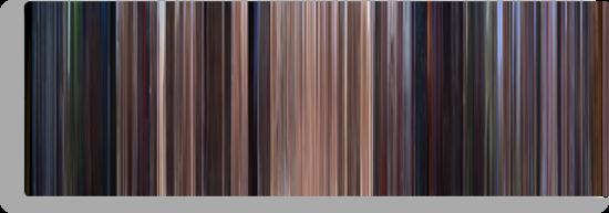 Moviebarcode: Star Wars: Episode I - The Phantom Menace (1999) by moviebarcode