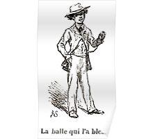 Achille Sirouy Mark Twain Les Aventures de Huck Huckleberry Finn illustration p282 Poster
