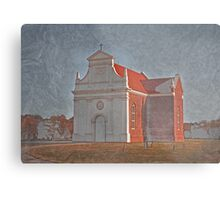 Old Church Metal Print