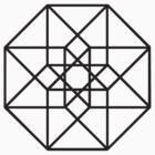Hypercube (black) by Calum Lamb