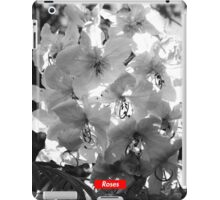 ROSES - FLOWER BOX LOGO iPad Case/Skin