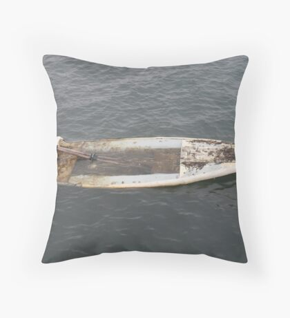 You Sunk My Battleship Throw Pillow