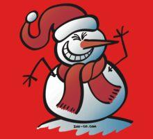 Naughty Snowman One Piece - Long Sleeve