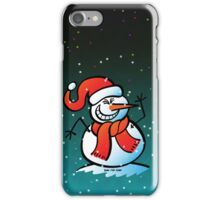 Naughty Snowman iPhone Case/Skin