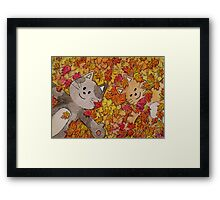 Fall of Fun Framed Print