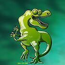 Dancing Tyrannosaurus Rex by Zoo-co
