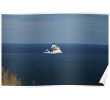 Tillamook Rock Lighthouse, Oregon Poster