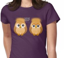 OWL TATTOO Womens Fitted T-Shirt