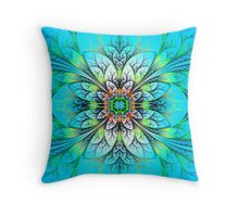 Webbed Delights Throw Pillow