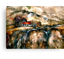 Wessex Winter...Hardy Country Canvas Print