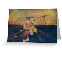 Greenwich Puzzle Greeting Card