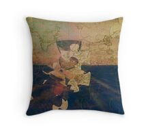 Greenwich Puzzle Throw Pillow
