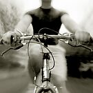 Bicycling by Miguel Avila