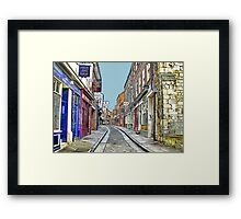 The Shambles - York Framed Print