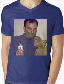 Spray Mens V-Neck T-Shirt