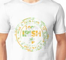 100 Percent Irish Unisex T-Shirt