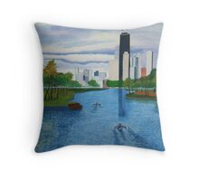Lincoln Park - Chicago Throw Pillow