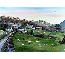 """Lakeland Spring"" - Troutbeck, Cumbria, English Lake District Photographic Print"