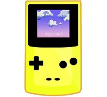 Yellow Gameboy Photographic Print
