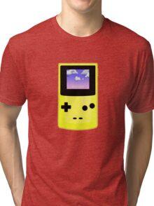 Yellow Gameboy Tri-blend T-Shirt