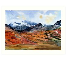 """Land of the Eagle"" - Hard Knott Pass, Cumbria, English Lake District Art Print"