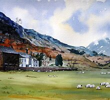 """Lambing Season"" - Farm, Cumbria, The English Lake District by Timothy Smith"