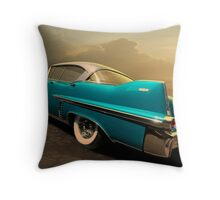 Riding with Patsy Throw Pillow