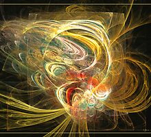 In full bloom by Fractal artist Sipo Liimatainen