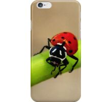 LadyBug ~ Whew That was A Close One iPhone Case/Skin