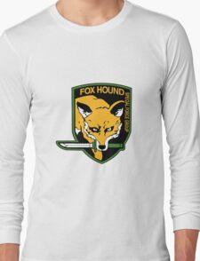 FOXHOUND Logo - Metal Gear Solid Long Sleeve T-Shirt