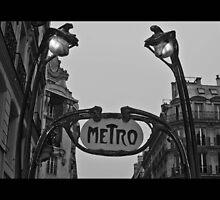Paris Metro by RecklessTimes