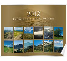 2012 Landscapes from Poland - cover Poster