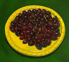 Some crammed cranberries by bernzweig
