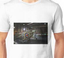 Supermarine Spitfire Hangar Unisex T-Shirt