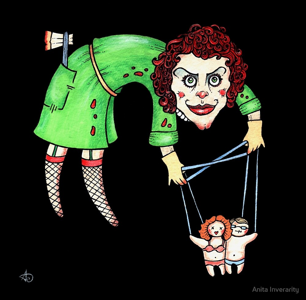 Frank N Furter by Anita Inverarity
