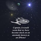 Star trek iPhone case by Chris-Cox