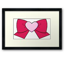 Chibi Chibi Bow Framed Print