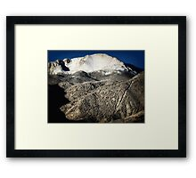 Pikes Peak Morning  Framed Print