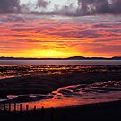 Allonby Sunset 2011 by Jan Fialkowski
