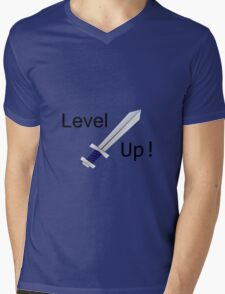 Level up! T-shirt Mens V-Neck T-Shirt