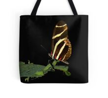Black With A Hint Of Flying Element Tote Bag