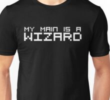 My Main is a Wizard (Reversed Colours) Unisex T-Shirt