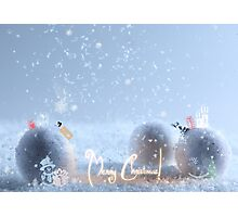 Merry Christmas! Photographic Print