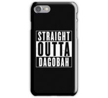 Straight Outta Dagobah iPhone Case/Skin