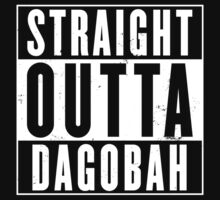 Straight Outta Dagobah Kids Tee