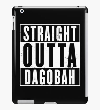Straight Outta Dagobah iPad Case/Skin