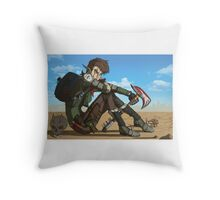 Broody & Moody Throw Pillow