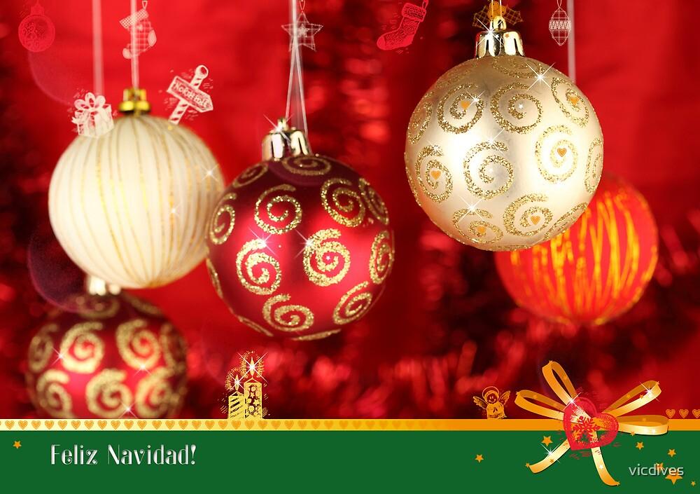 Feliz Navidad! by vicdives