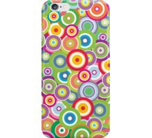 Bright Vector Circles iPhone Case iPhone Case/Skin