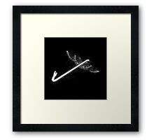 Crowbar With Wings - prints Framed Print